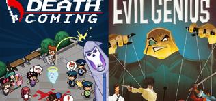 Ingyen Death Coming és Evil Genius!