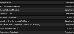 Ingyenes tartalmak automatikus hozzáadása a Steamen