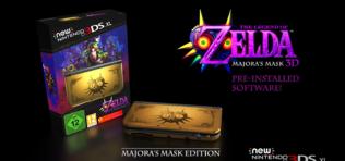 A New 3DS XL-lel jön a Legend of Zelda: Majora's Mask 3DS kiadása