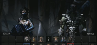 Mortal Kombat X: Kitana, Reptile