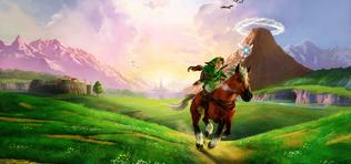 Legend of Zelda - Ocarina of Time bekötött szemmel