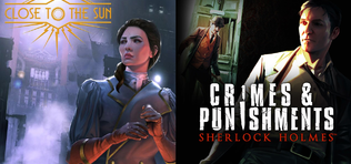 Ingyen Close to the Sun és Sherlock Holmes: Crimes and Punishments