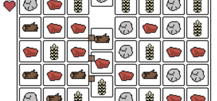 Gridland, a puzzle túlélős