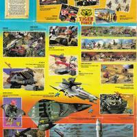 1989-es európai G.I.Joe katalógus