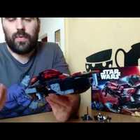 04# Lego Star Wars Eclipse fighter bemutató, elemzés