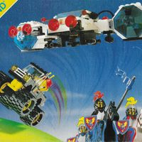 1988-as nyugat-európai, kisméretű Legoland katalógus