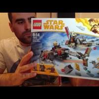 Heti videó: 19# Lego Star Wars - 75215 Cloud Riders Swoop Bikes