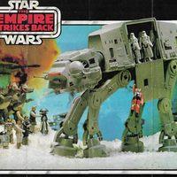 1981-es német Empire Strikes Back kihajtogatható katalógus/poszter