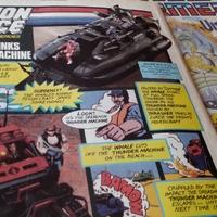 Játékreklámok angol Transformers képregényekből (87-88)