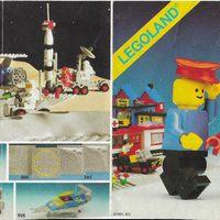 Kisméretű Lego insert 1980-ból