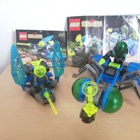 Heti videó: 11# Vintage Lego - 6837 Cosmic Creeper & 6817 Beta Buzzer