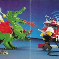 12 oldalas kisméretű Lego katalógus 1993-ból