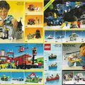 1986-os kihajtogatható Lego Insert