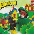 Lego Fabuland insert 1980-ból