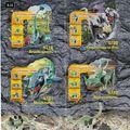 2001-es Lego Dinosaurs insert