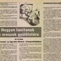 Találatok az archívumokból 9.rész - Szemezgetés a régi újságokból