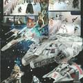 POTF2 Star Wars kihajtogatható poszter és katalógus