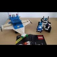 Heti videó: 07# Vintage Lego - Cosmic Cruiser & Lunar MPV Vehicle