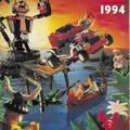 1994-es füzet alakú, magyar Lego katalógus