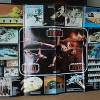 Európai Vintage Star Wars katalógusok/ insertek