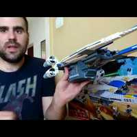 07# Lego Star Wars U-Wing fighter bemutató, elemzés
