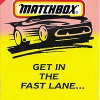 1994-es angol Matchbox katalógus