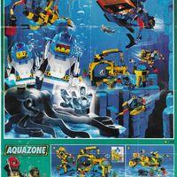 Lego Aquazone Insert 1995-ből