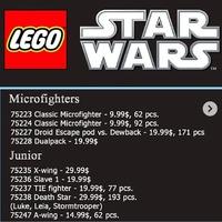 Lego Star Wars pletykák 2019-re