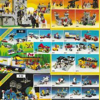 1984-es Lego egylapos insert