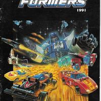 Európai Transformers katalógus 1991-ből