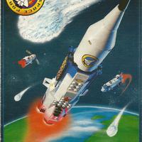 Lego System űrhajós, kihajtogatható katalógus 1999-ből