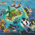 Európai kisméretű Lego katalógus 96-ból