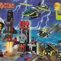 2001-es Lego Alpha Team insert