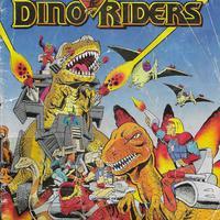 1989-es francia Dino Riders képregény/katalógus