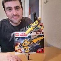 Heti videó: 24# Lego Star Wars - 75214 Anakin's Jedi Starfighter