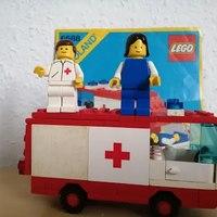 Heti videó: 10# Vintage Lego - 6688 Ambulance