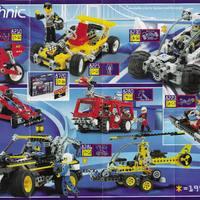 1996-os Lego Technic insert