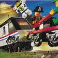 Nyugat-európai, kisméretű Lego katalógus 1991-ből
