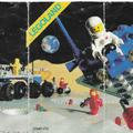 Kihajtogatható Lego Space insert 1983-ból