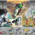 Lego Star Wars insert 2000-ből