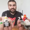 Heti videó: 13#Vintage Lego - 886 Space Buggy & 6842 Shuttle Craft