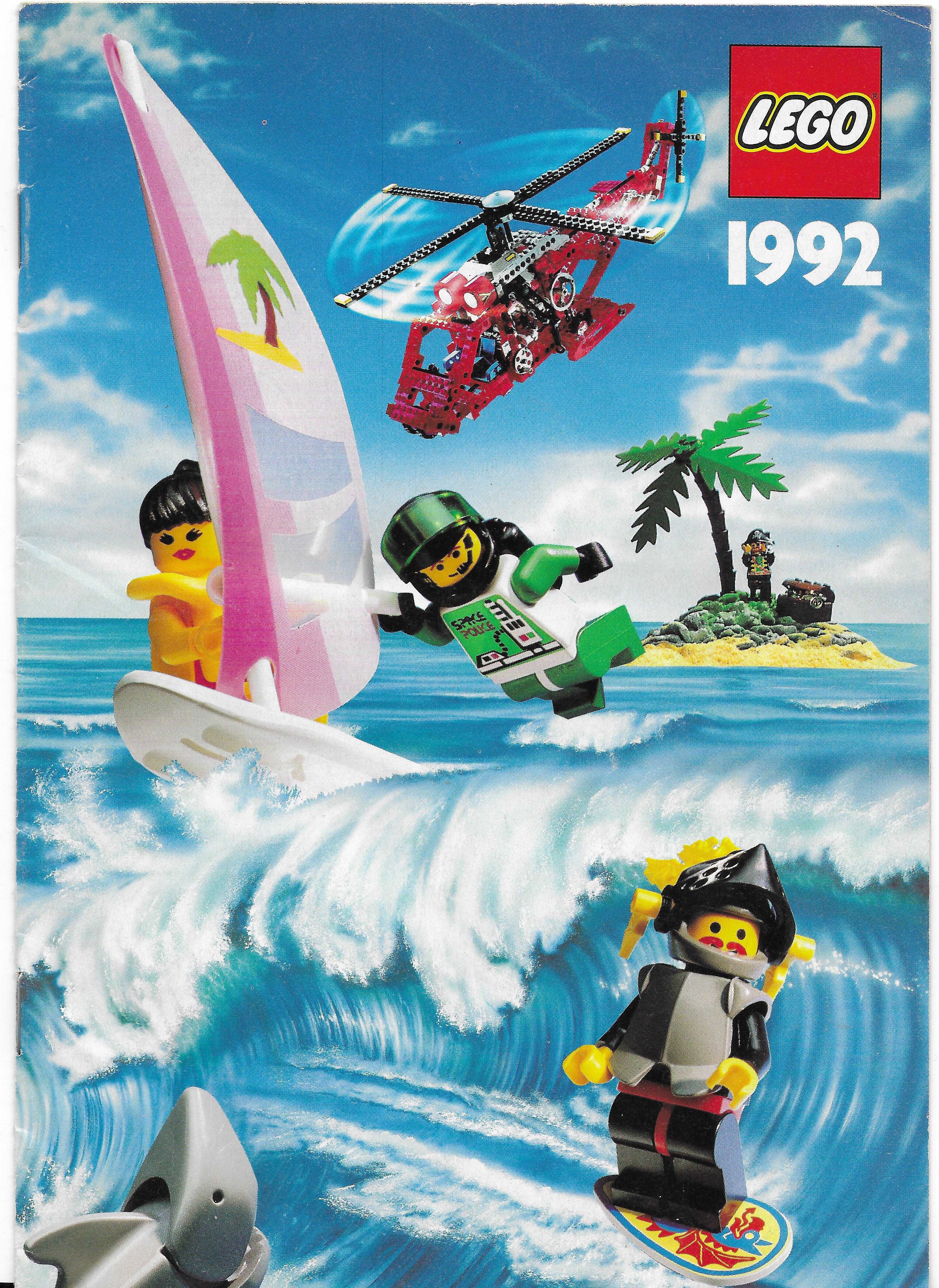 1992-es magyar Lego katalógus