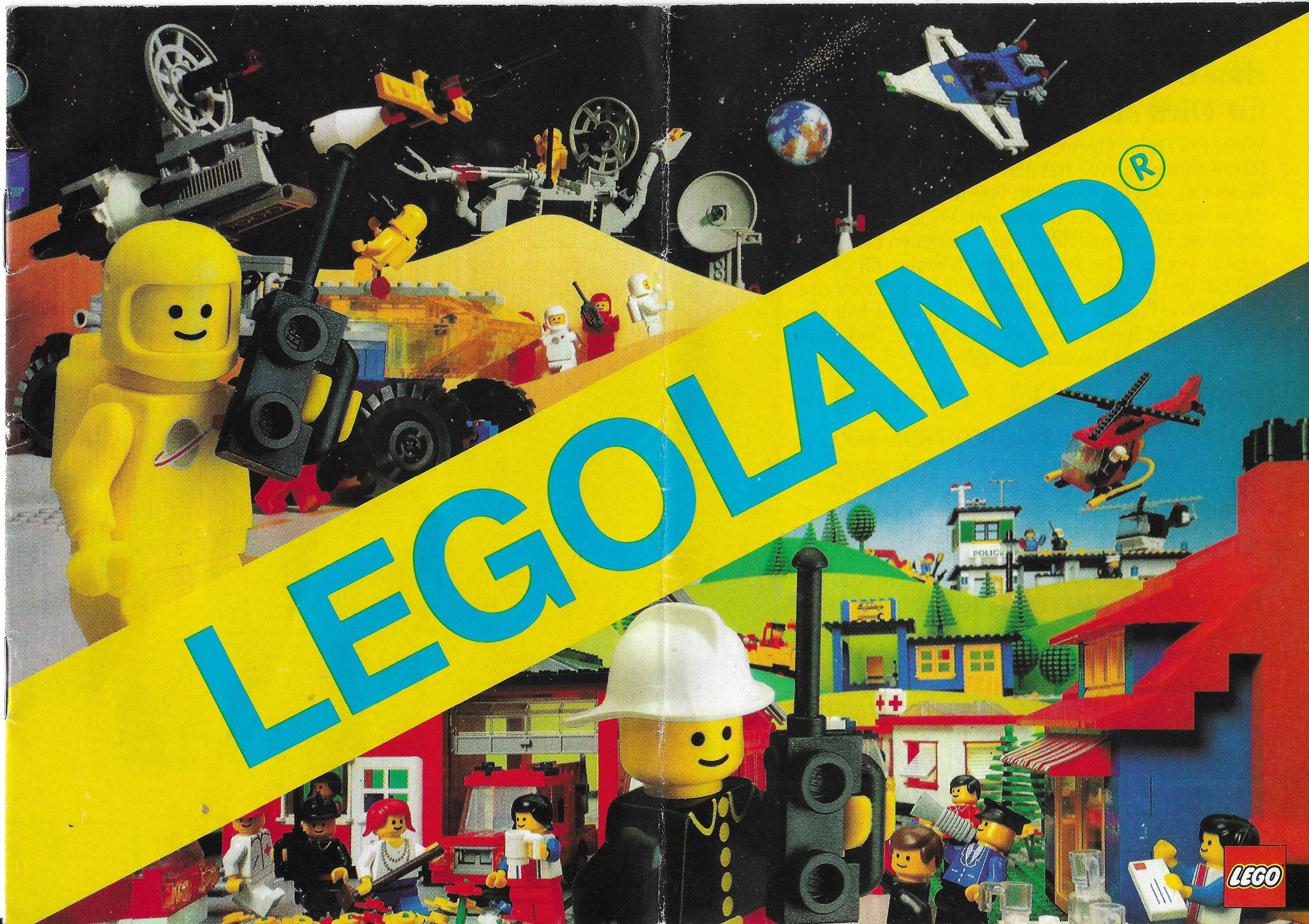 1982-es 12 oldalas Lego katalógus