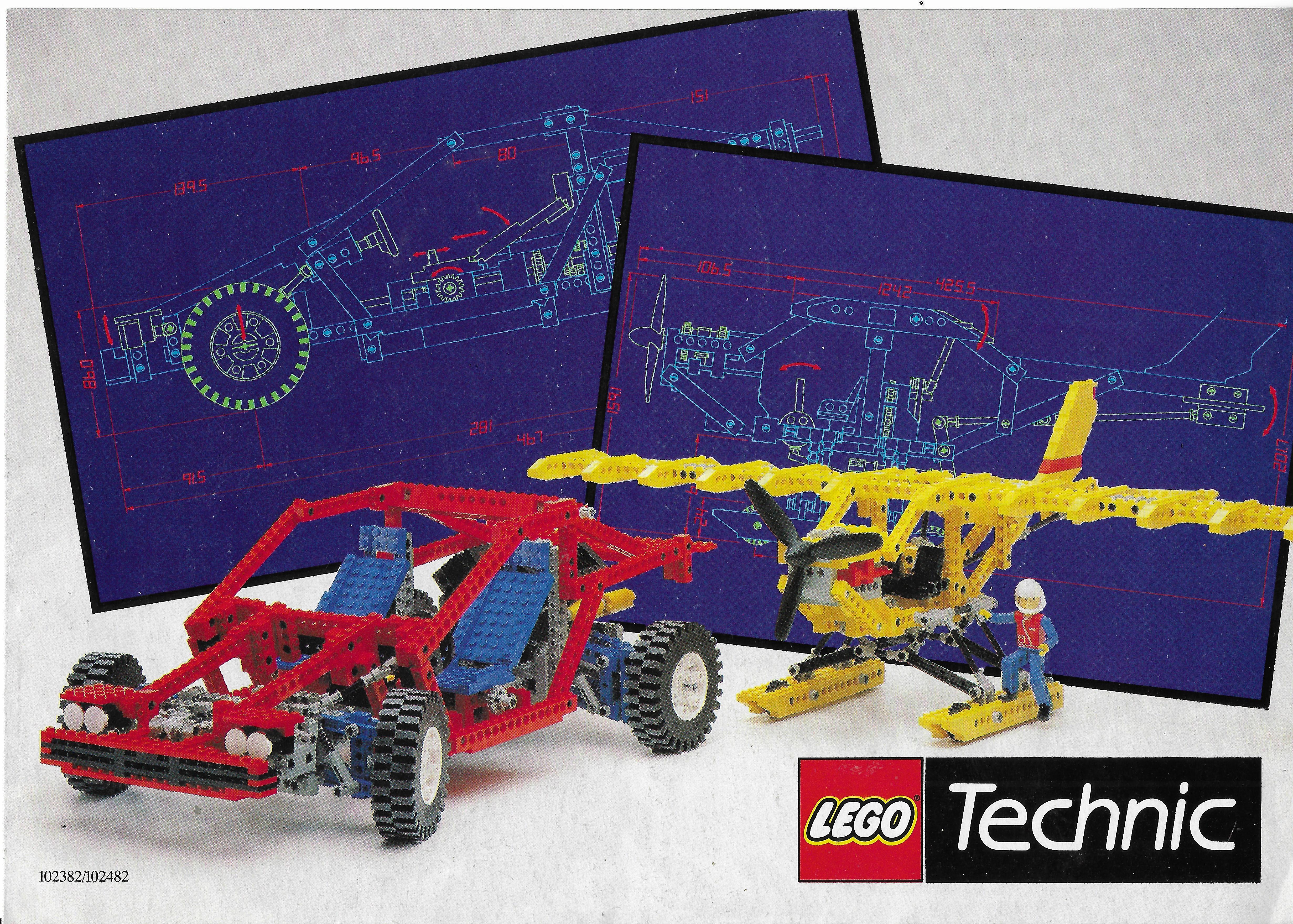 1988-as Lego Technic katalógus