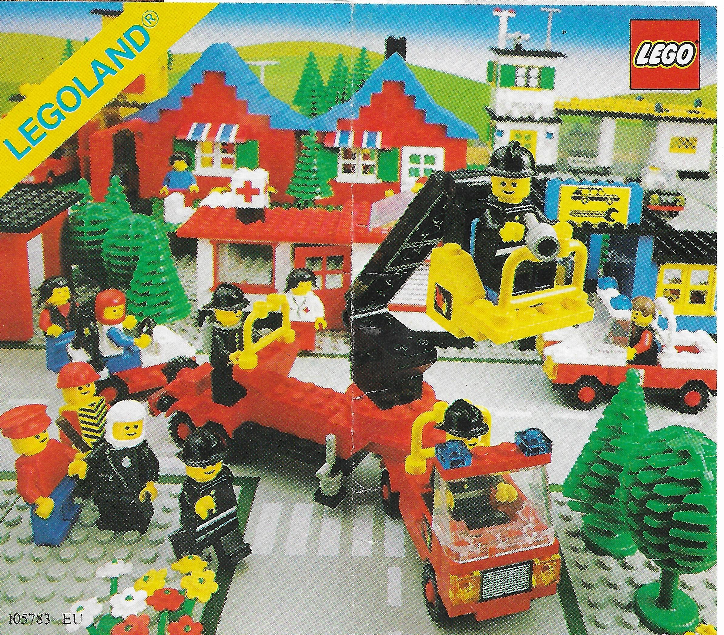 Lego Town insert 1980-ból