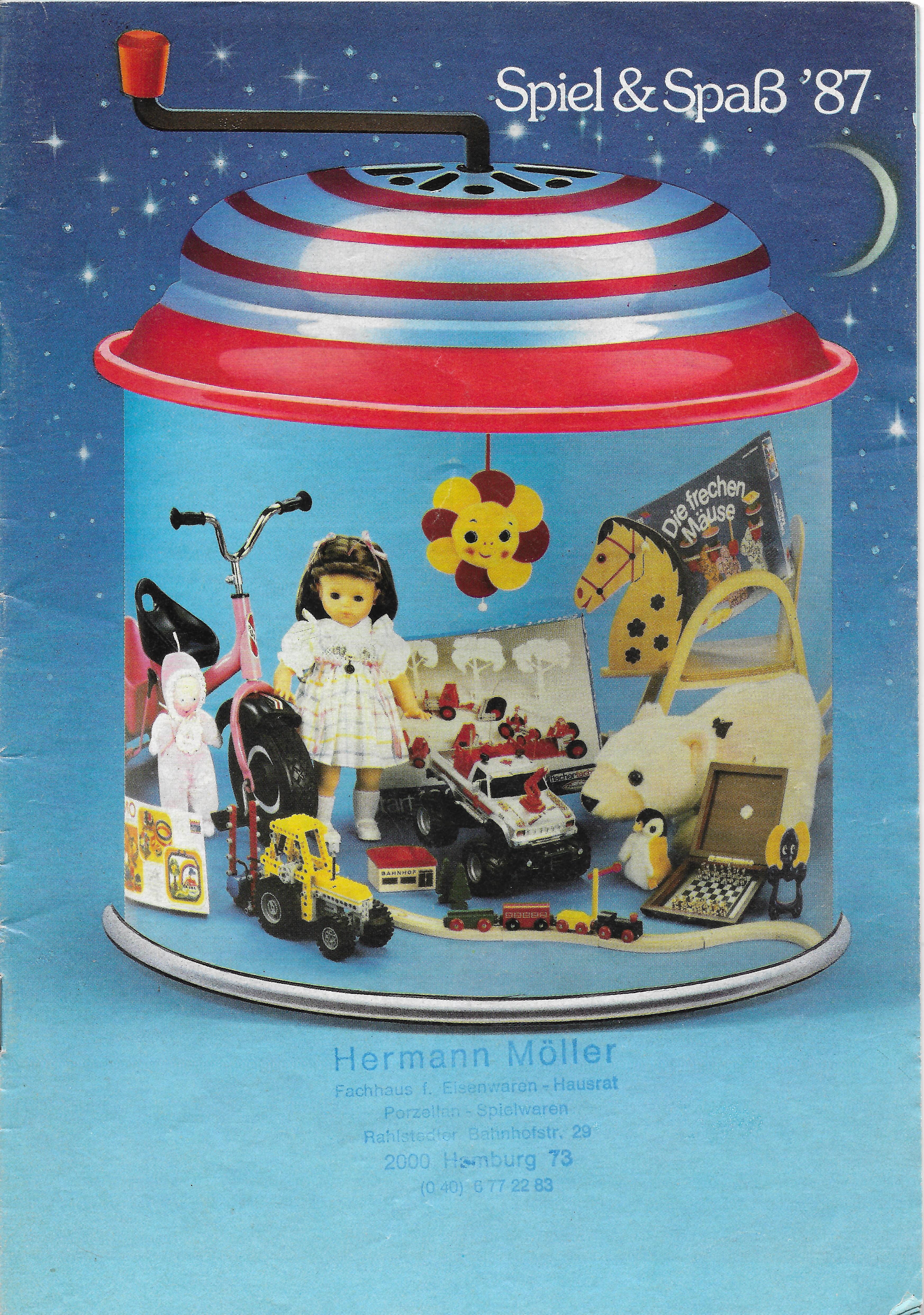 Advent I. - 1987-es Spiel & Spaß katalógus Németországból