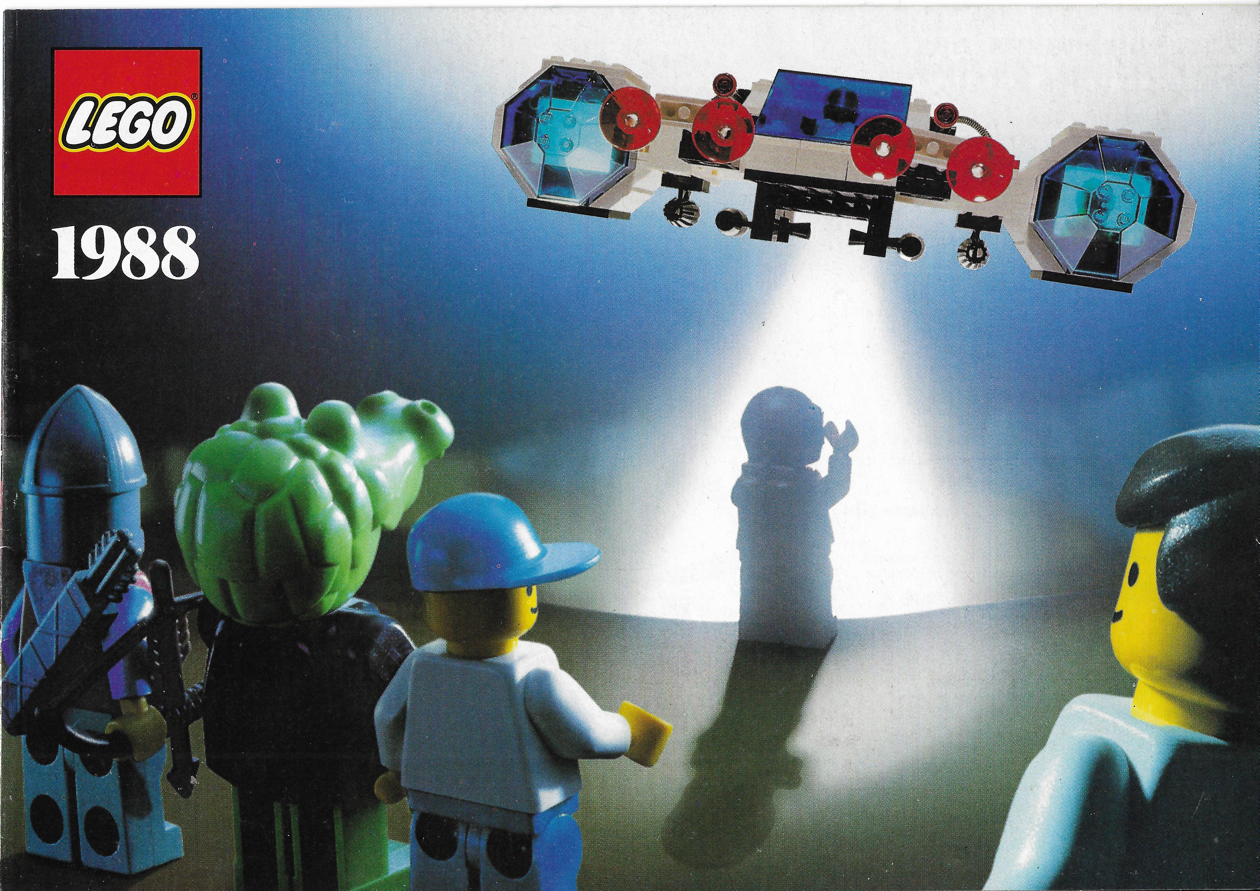 1988-as német Lego katalógus