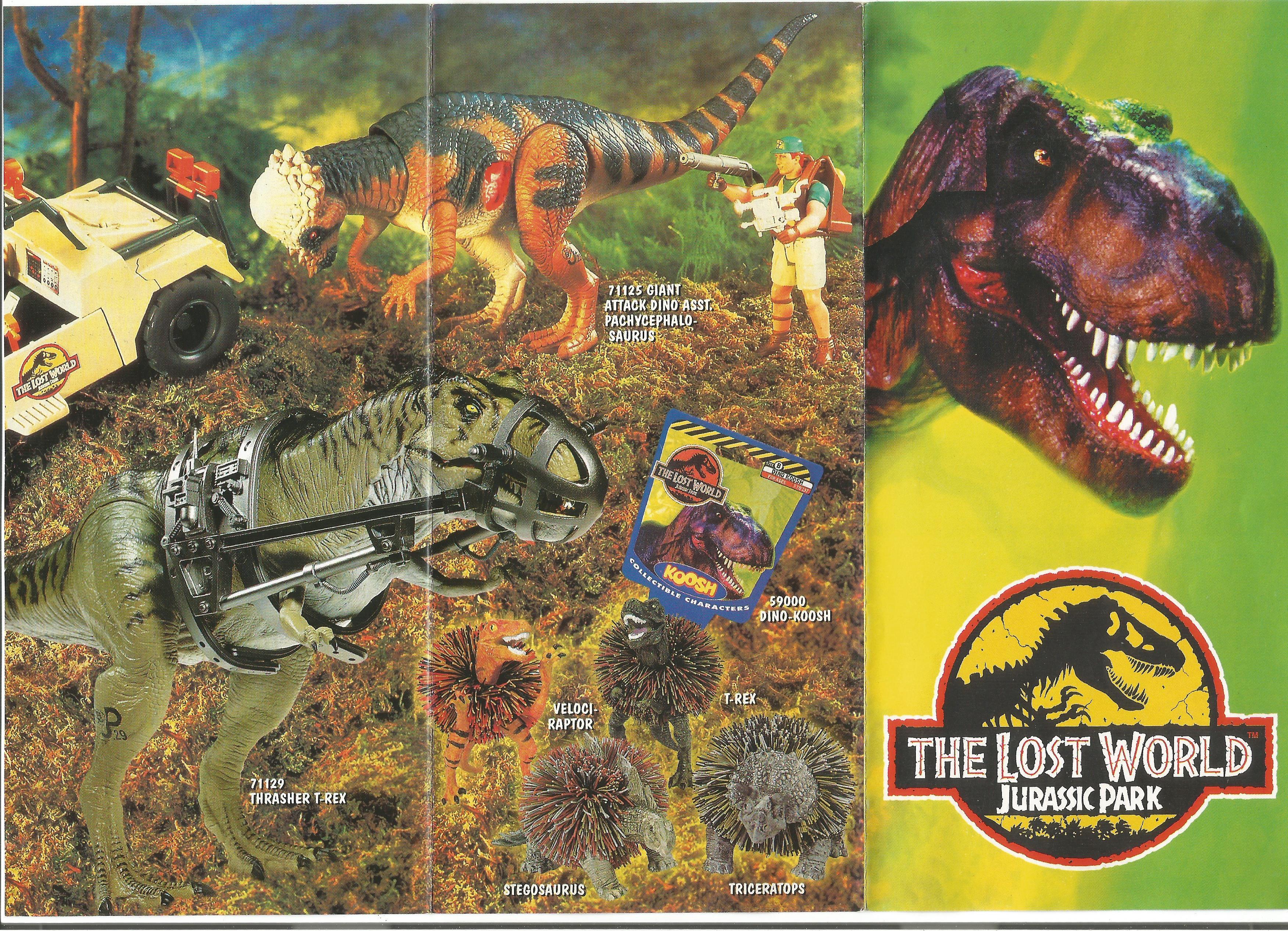 Lost World Jurassic Park egylapos katalógus