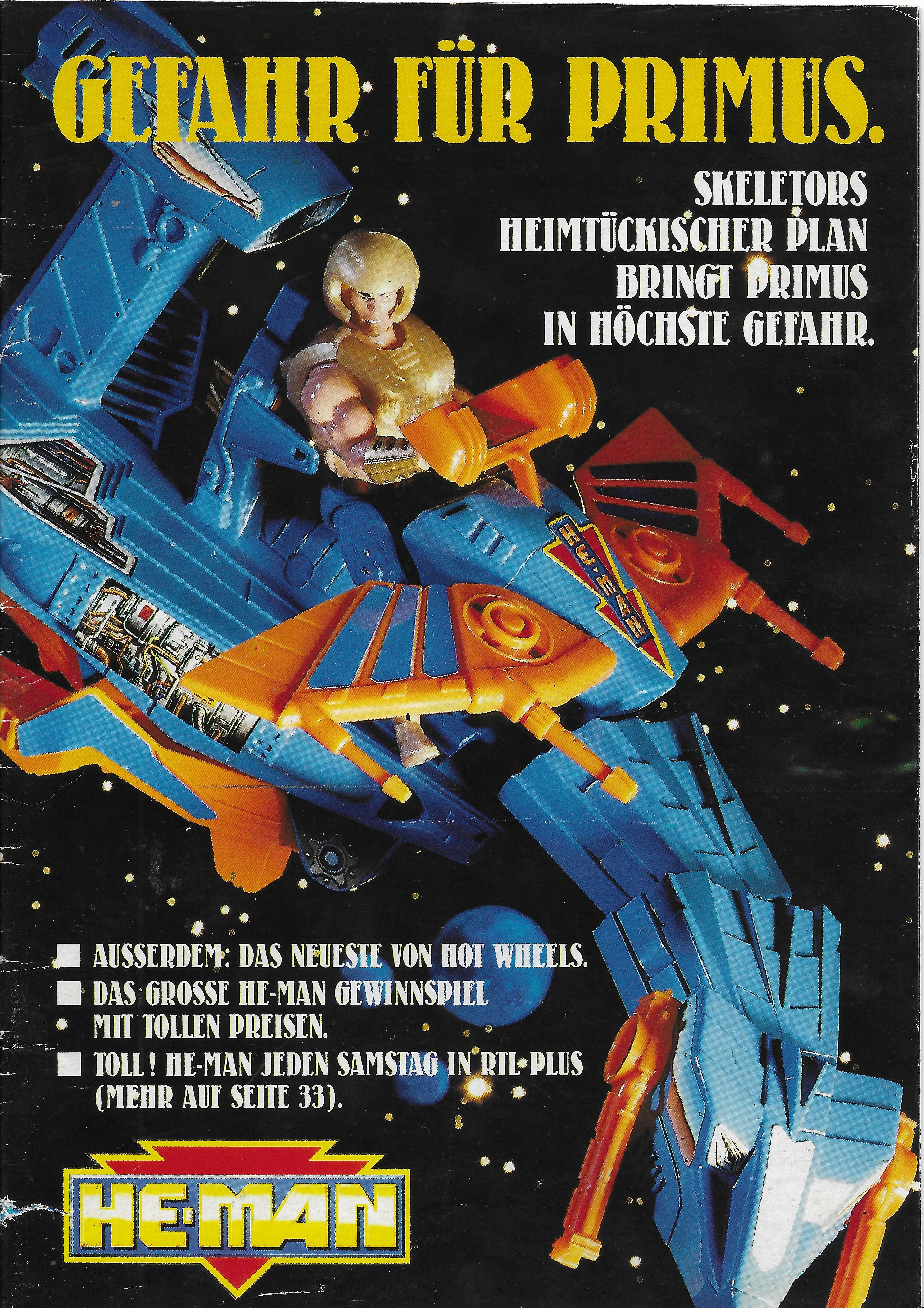 1990-es német He-Man katalógus