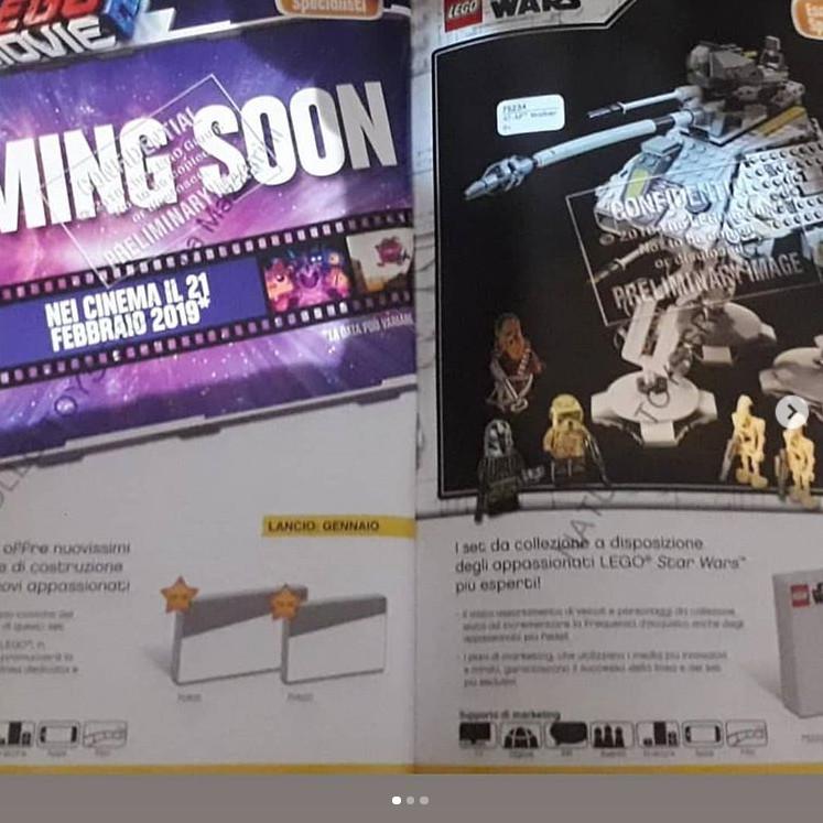 Újabb fotók a 2019 eleji Lego Star Wars készletekről
